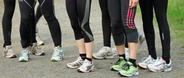 The Running Shoe Generation Gap
