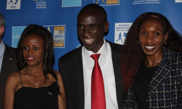 Eliud Kipchoge, Marathon Runner of the Year