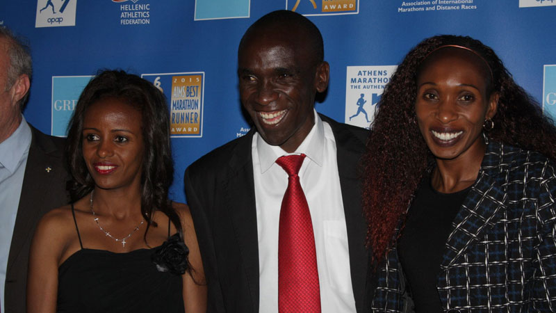 Eliud Kipchoge - Marathon Runner of the Year