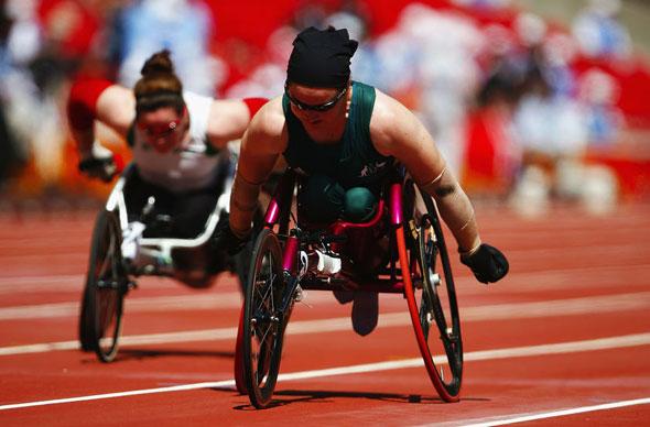 Angela Ballard - Paralympic