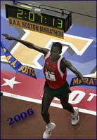 Robert Cheruiyot - Boston 2006