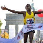 Haile Gebrselassie receives award
