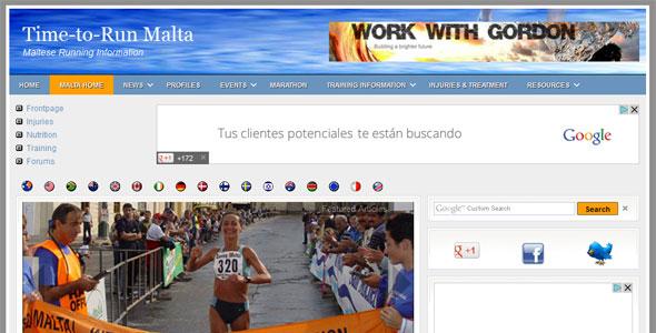 Malta Running Information