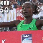 Keitany destroys world Half Marathon record