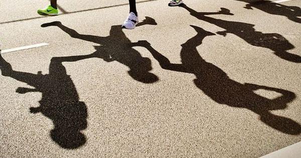 run shadow
