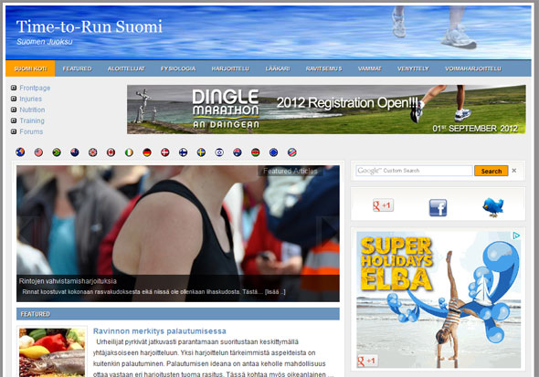 Time-to-Run Suomi