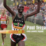Paul Tergat donates iconic uniform