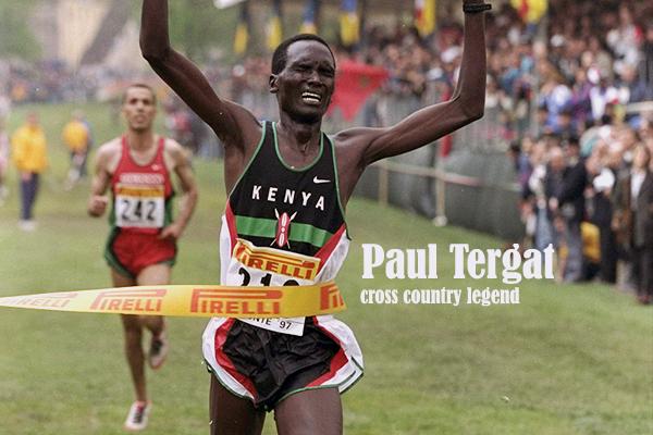 Paul Tergat donates iconic uniform