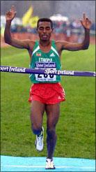 Bekele Dublin 2002